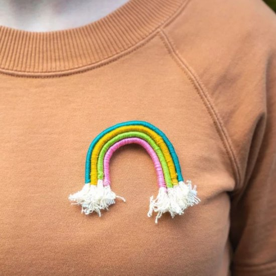 Make Your Own Fiber Arts Rainbow