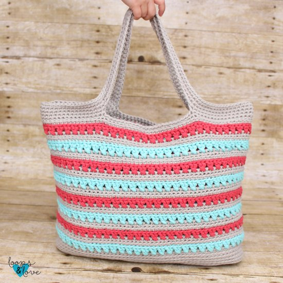 Beach Please Summer Tote