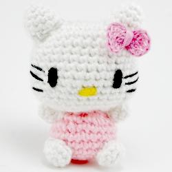 Ravelry: Gatita Hello Kitty Bailarina pattern by Esperanza Rosas | 250x250