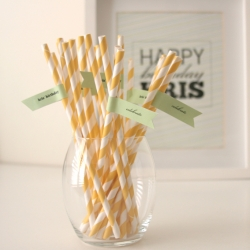 diy straw flags with free template craftgawker