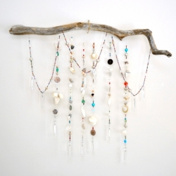 Driftwood Wall Hanging driftwood wall hanging | craftgawker