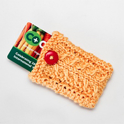 DIY Knit Gift Card Holders
