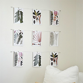 ... DIY Wire Art Display