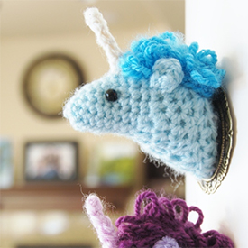 Toy Patterns by DIY Fluffies : Bella the unicorn Amigurumi crochet ... | 275x275