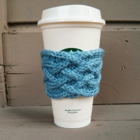Celtic Plait Coffee Cup Sleeve