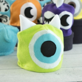 ... Easy Fleece Monster Hat 3f1e847b58c