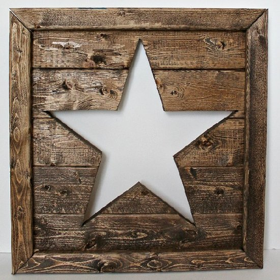 Wood Star Art