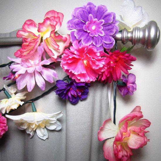 floral string lights craftgawker