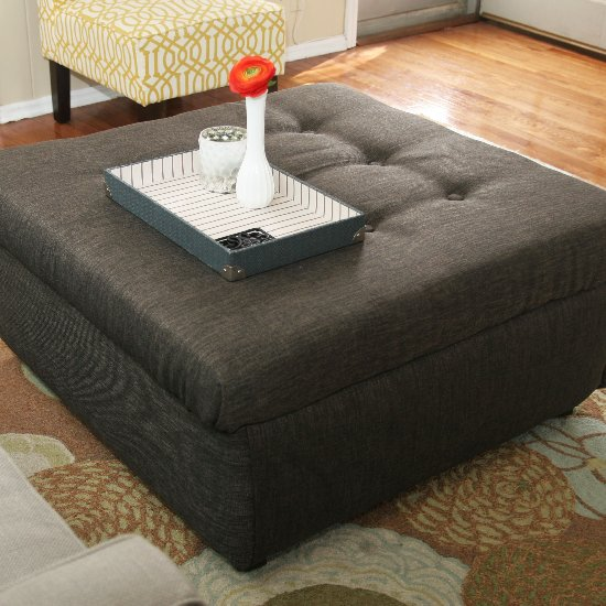 Diy ottoman gallery craftgawker coffee table turned ottoman solutioingenieria Images
