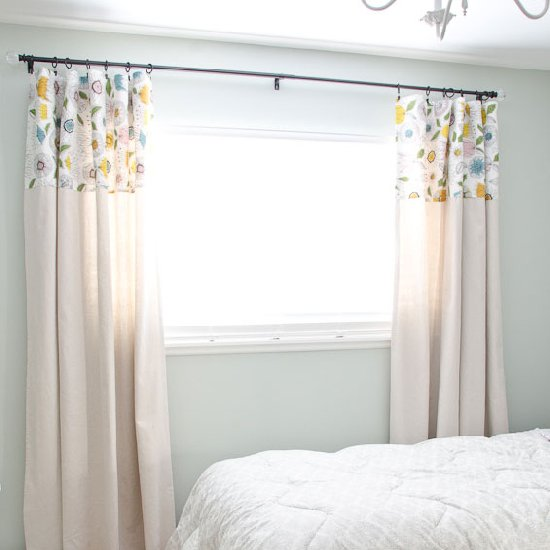 Diy No Sew Drop Cloth Curtains Craftgawker