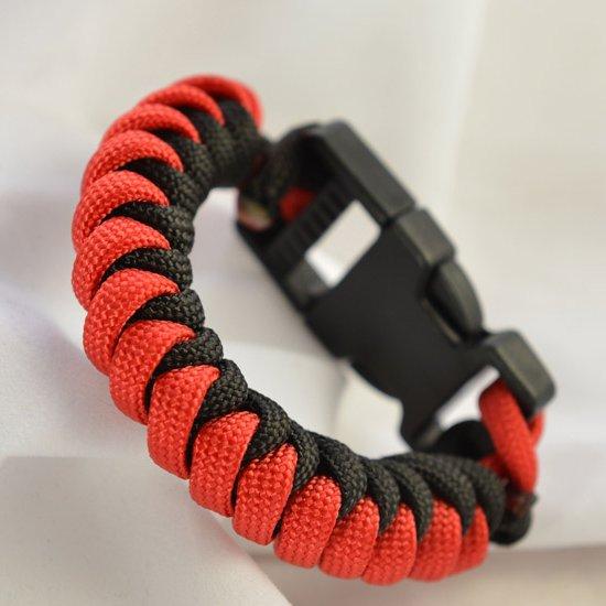 snake knot paracord bracelet | craftgawker
