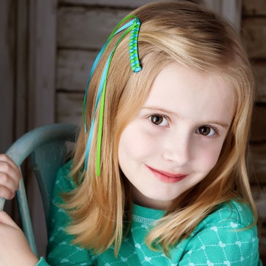 How To Make Braided Barrettes