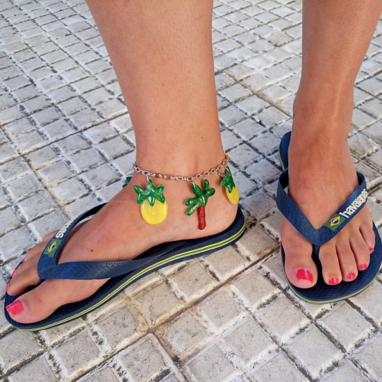 Tropical anklets