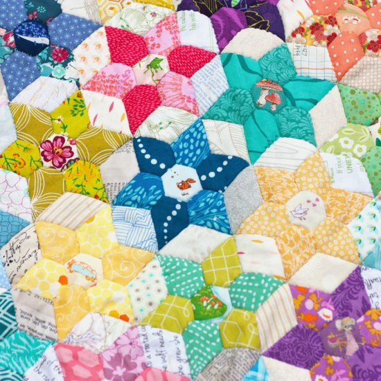 photo relating to Free Printable English Paper Piecing Templates named english paper piecing gallery craftgawker