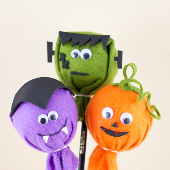 Image Gallery halloween pencil topper crafts