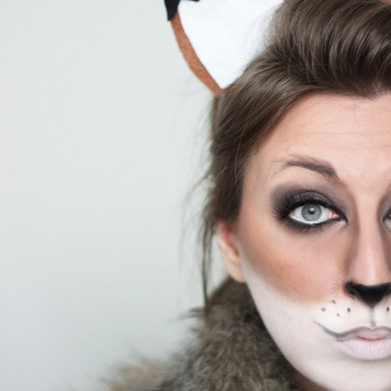 Bunny Face Paint.  Email Fox Halloween Tutorial makeup tutorial gallery craftgawker