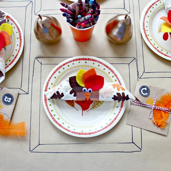 ... Kids\u0027 Thanksgiving Table Setting & kids table gallery | craftgawker