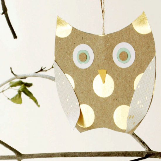 DIY Birds Craft: 24 Easy Paper Owl Craft Ideas for Kids | 550x550