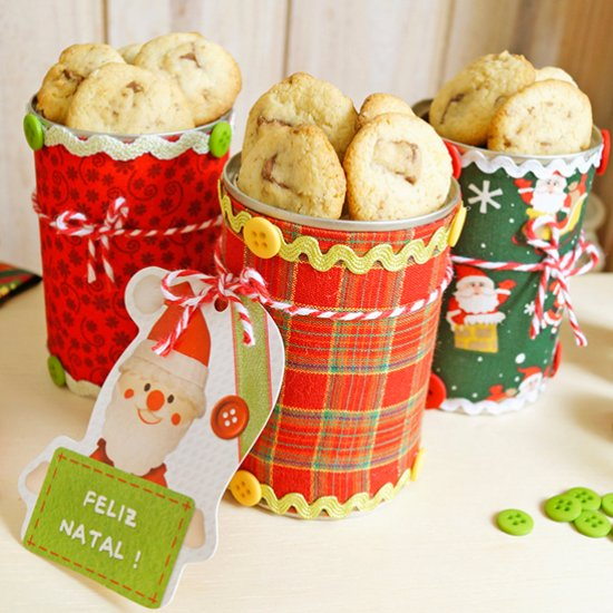 Diy Christmas Cookie Can Craftgawker