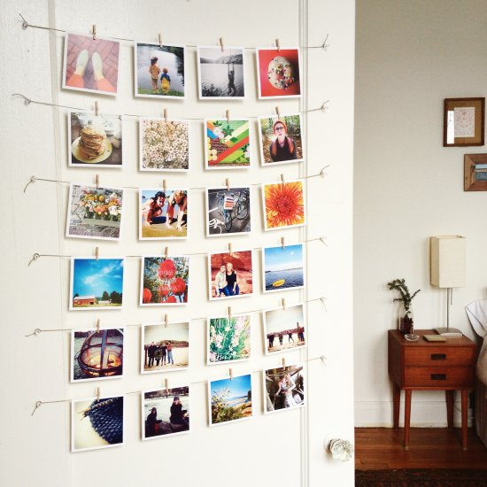 Decorate with Sticky9 Square Prints