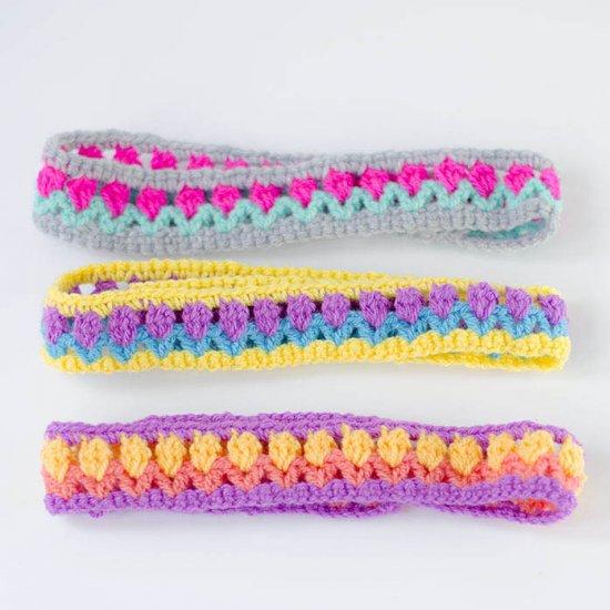 Crochet Flower Headband Gallery Craftgawker