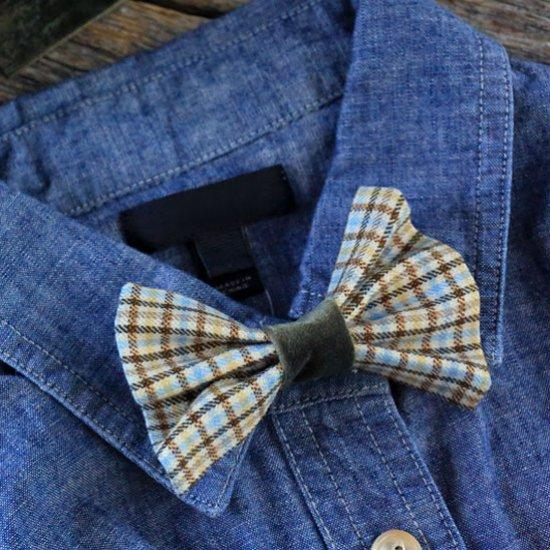... DIY Clip-on Bow Tie