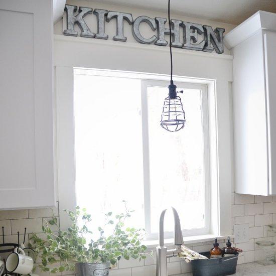 ... DIY Rustic Kitchen Sign