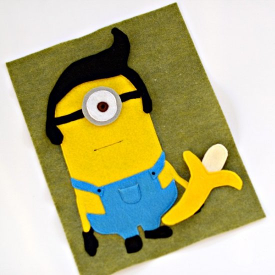 ... Dress Up Minion Quiet Book Page 1a58a8d37835