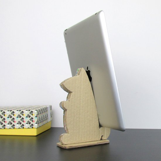 Cardboard Tablet Stand