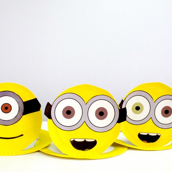 Birthday party crafts gallery craftgawker how to make easy minion hats solutioingenieria Gallery