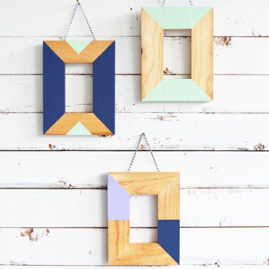 ... DIY Easy Painted Frames