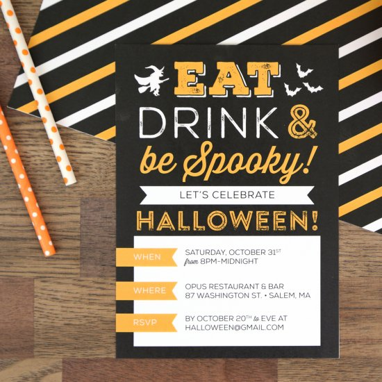 picture relating to Free Printable Halloween Birthday Party Invitations identify Free of charge Printable Halloween Bash Invitation