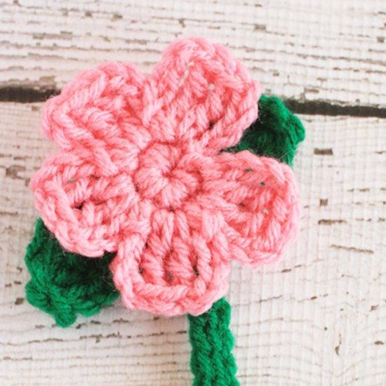 Crochet Flower Bookmark Gallery Craftgawker