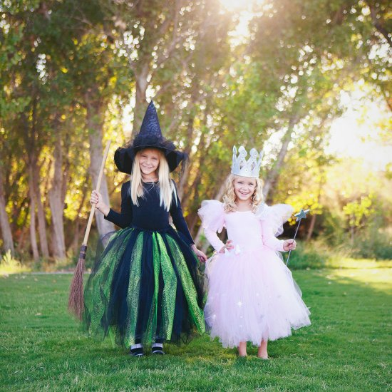 diy glinda & wicked witch costumes | craftgawker