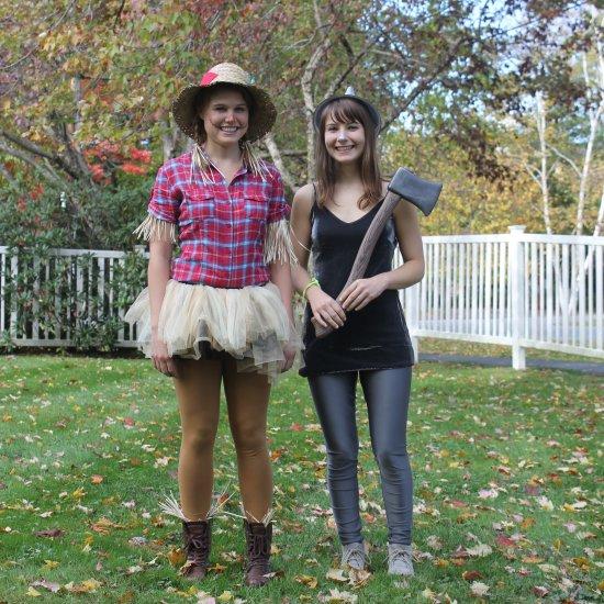 ... DIY Scarecrow u0026 Tin Man Costumes  sc 1 st  Craftgawker & last minute costume gallery | craftgawker