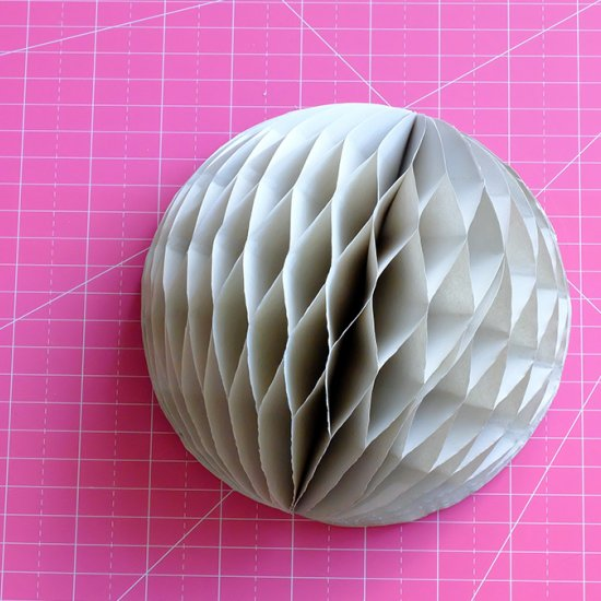 DIY Honeycomb Lanters
