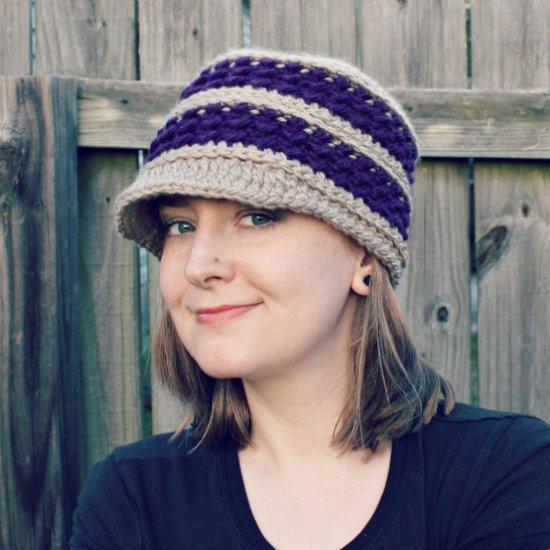 Diana Newsboy Hat Crochet Pattern Craftgawker