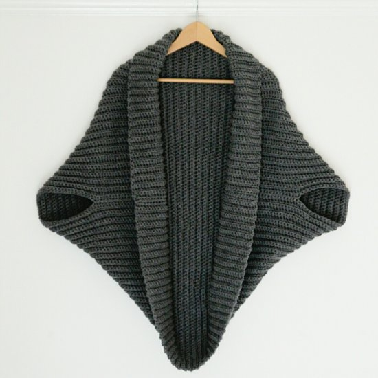 Simple Crochet Cardigan