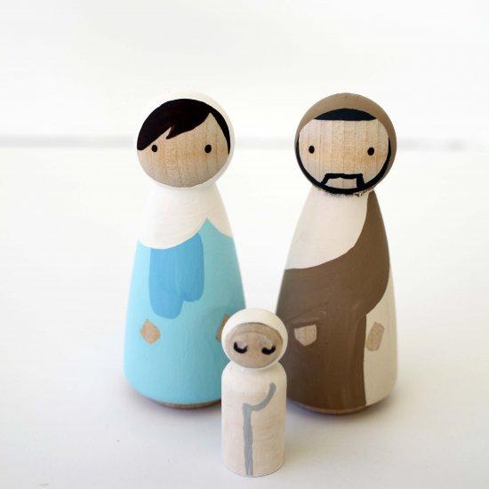 Peg Doll Gallery Craftgawker