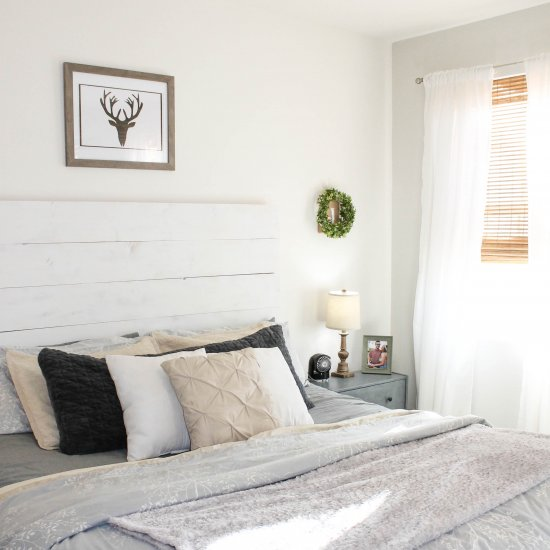 Ideal  DIY Wood Slat Headboard