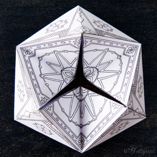 photo relating to Flextangle Printable identified as xmas winter season flextangle craftgawker