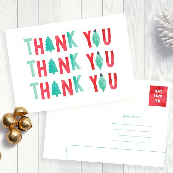 Christmas Thank You Cards For Kids Craftgawker