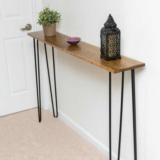 Charmant ... Leftover Pine DIY Console Table