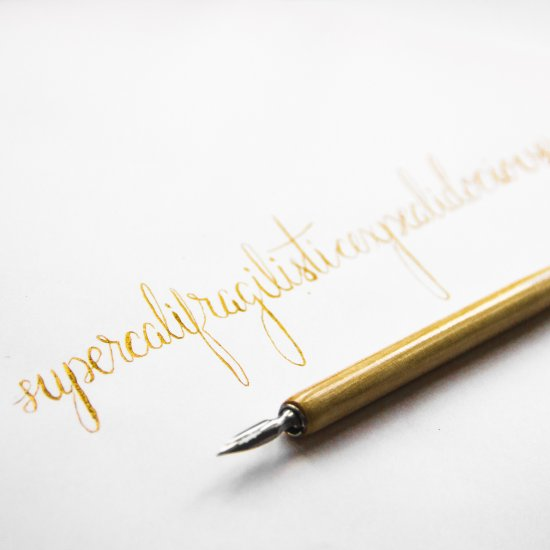 Learning Hand Lettering