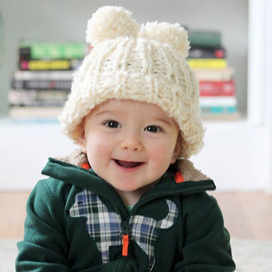 Baby Snowball Hat Knitting Pattern Craftgawker