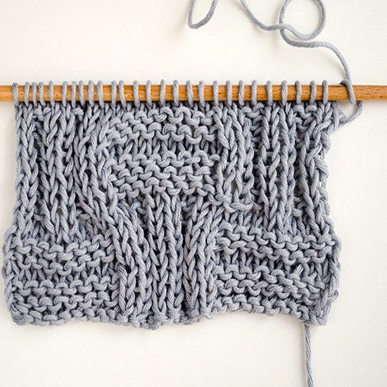 How To Knit Big Basketweave Stitch Craftgawker