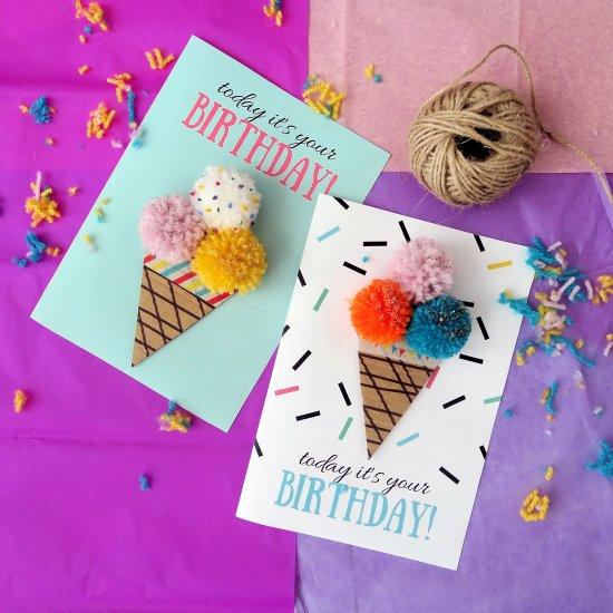 Birthday card gallery craftgawker ice cream birthday card bookmarktalkfo Choice Image