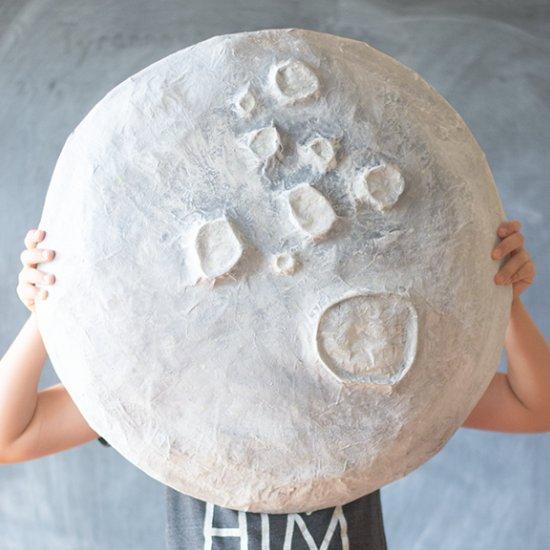 Giant Paper Mache Moon Craft Gawker Bloglovin