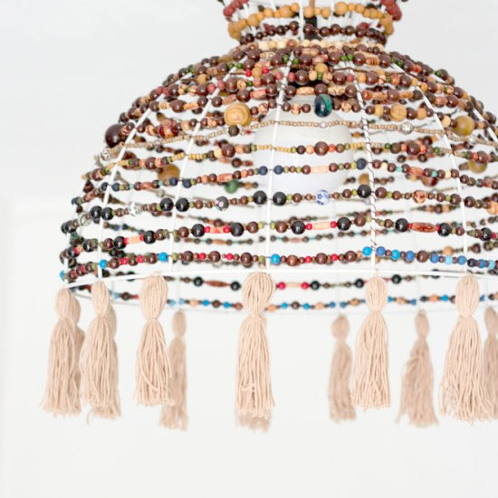 Chandelier gallery craftgawker diy beaded chandelier aloadofball Choice Image