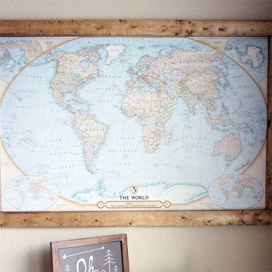 Cork board diy gallery craftgawker pin board travel map gumiabroncs Image collections